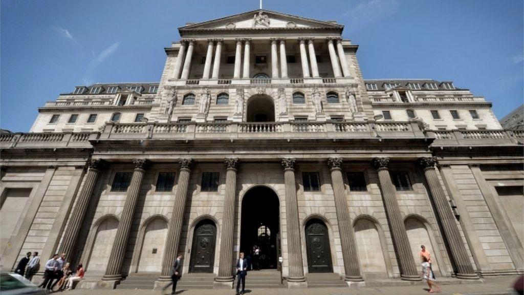 anglijos bankas