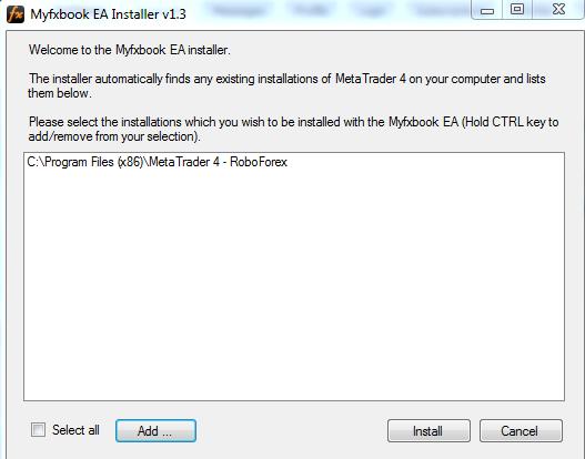 myfxbook installer