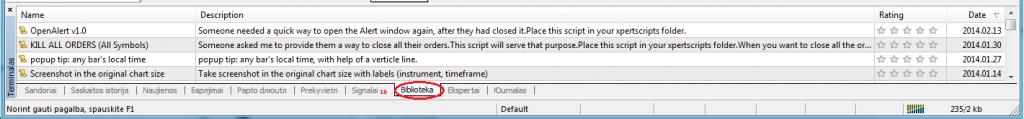 daugiau skriptu
