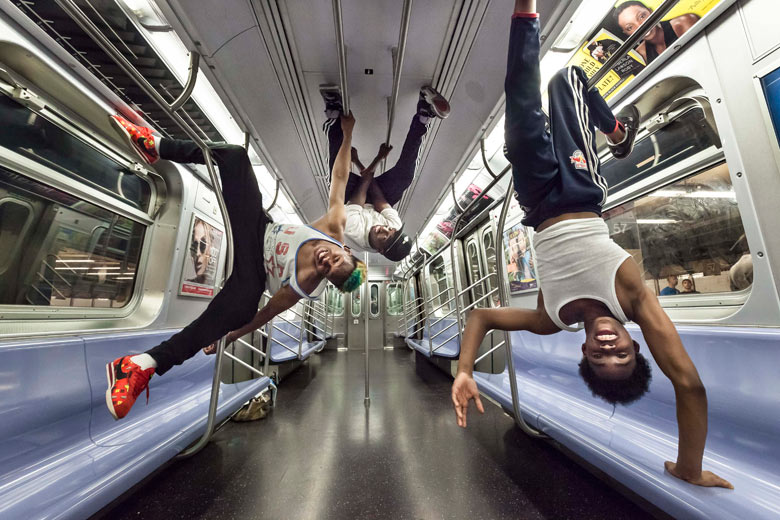 Subway Dancers Of New York