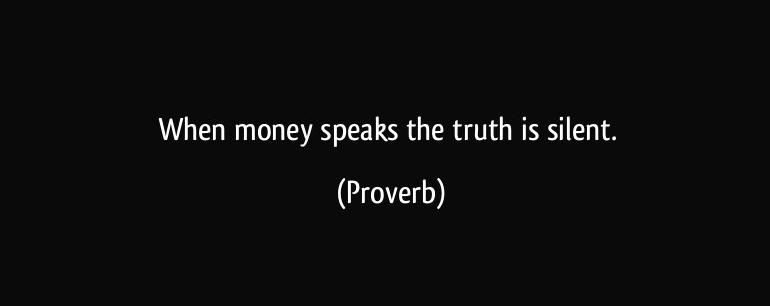 pinigai megsta tyla