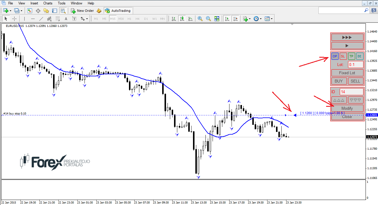 Forex news toolbar