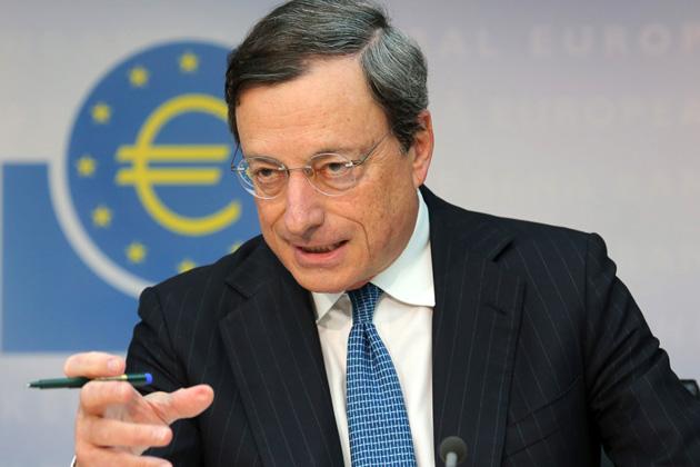 Mario Draghi ecb prezidentas