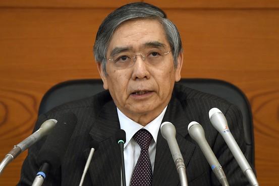 kuroda japonijos banko vadovas