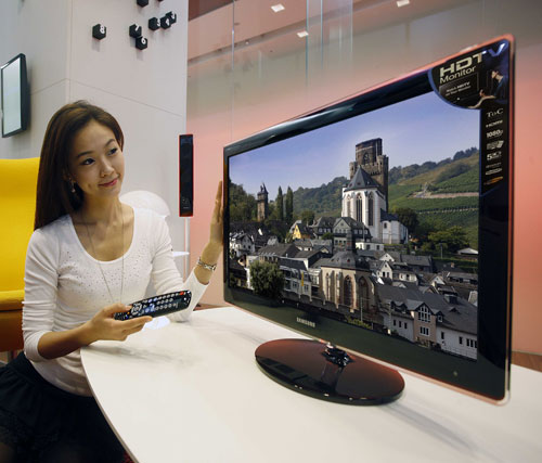 monitorius samsung p2770hd