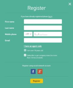 grand capital registracija