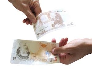 valiutos keitimas