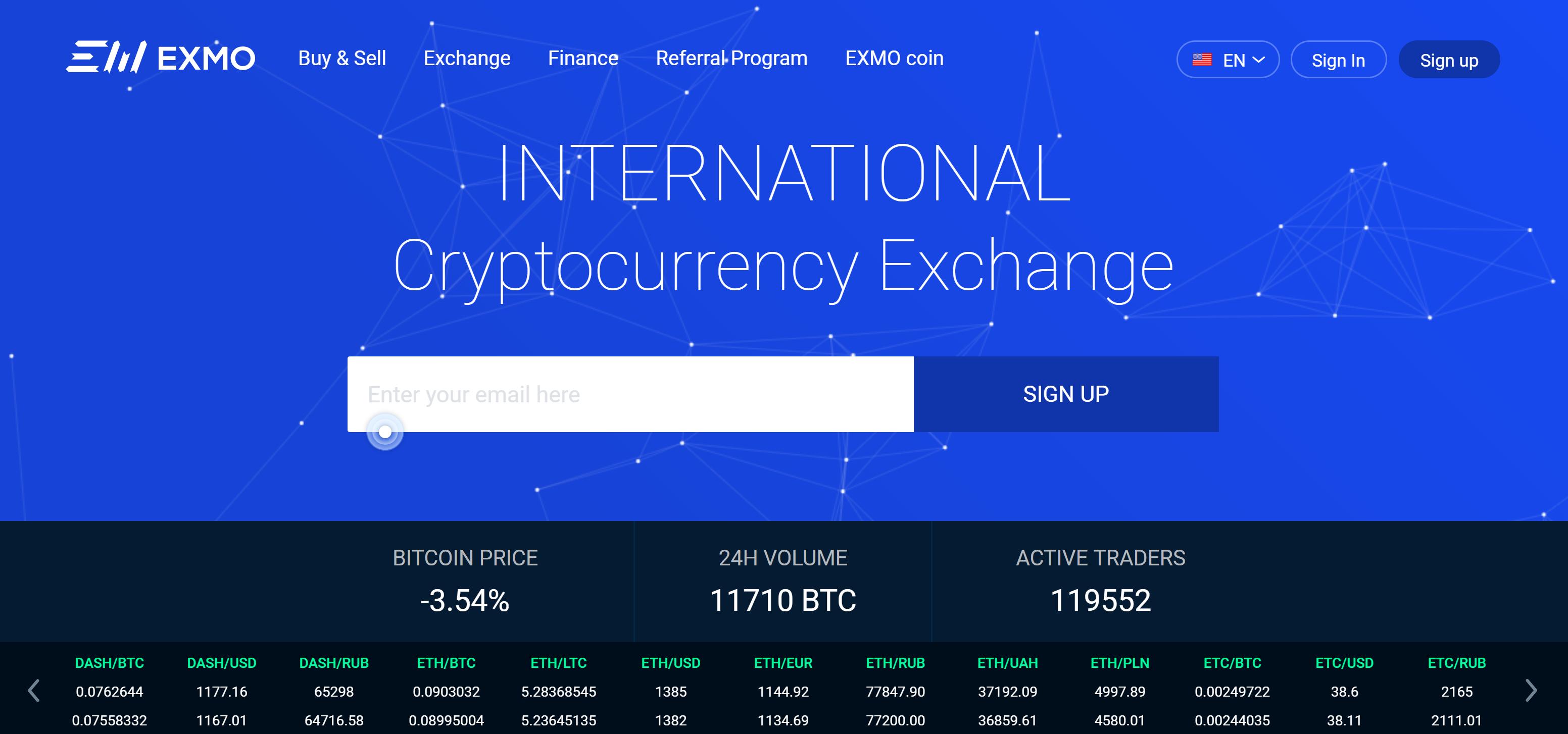 geriausios kriptovaliutų prekybos platformos birža exmo